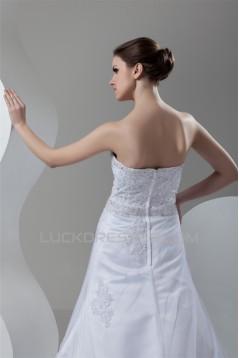 Wonderful A-Line Sweetheart Sleeveless Beaded Lace Wedding Dresses 2031074