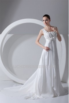 A-Line Square Sleeveless New Arrival Wedding Dresses 2031201