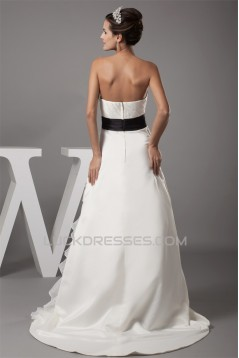 Soft Sweetheart Satin Taffeta Wedding Dresses 2030155