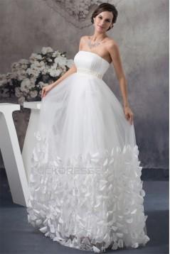Empire Strapless Wedding Dresses Maternity Wedding Dresses 2030162