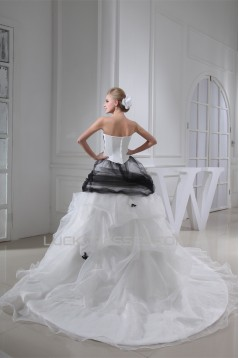 Ball Gown Lace Tulle Netting Sweetheart Most Beautiful Wedding Dresses 2030190