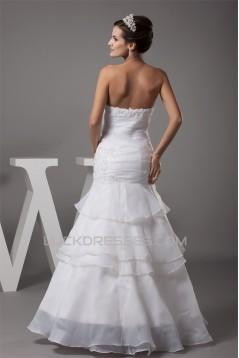 Mermaid/Trumpet Sleeveless Sweetheart Wedding Dresses 2030212