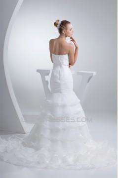 Mermaid/Trumpet Strapless New Arrival Wedding Dresses 2030214