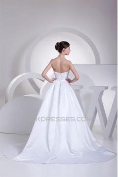 A-Line Sweetheart Sleeveless Wedding Dresses 2030233