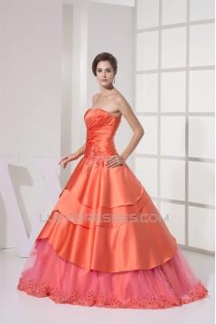 A-Line Sleeveless Sweetheart Beaded Lace Wedding Dresses 2030264