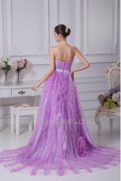 A-Line Satin Fine Netting Sleeveless Beading New Arrival Wedding Dresses 2030270