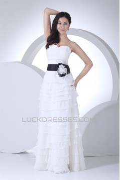 A-Line Sweetheart Tiered Most Beautiful Wedding Dresses 2030333