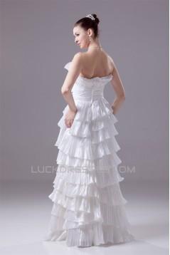 Sleeveless Princess Strapless Taffeta New Arrival Wedding Dresses 2030382