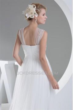 Sheath/Column Straps Satin Fine Netting Most Beautiful Wedding Dresses Maternity Wedding Dresses 2030420