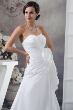 A-Line Sleeveless Sweetheart Sweet Wedding Dresses 2030421