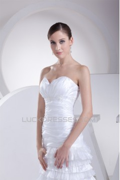Sweetheart Organza Taffeta New Arrival Wedding Dresses 2030481