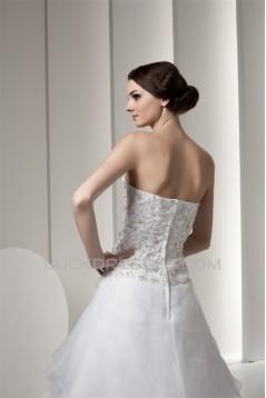 A-Line Sleeveless Sweetheart Satin New Arrival Wedding Dresses 2030554