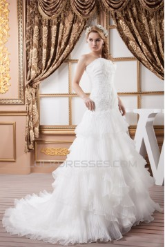 A-Line Sweetheart Sleeveless Lace Wedding Dresses 2030563