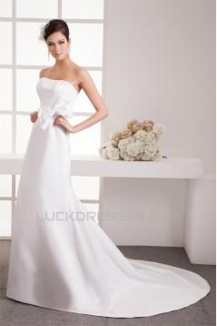 A-Line Taffeta Sleeveless Soft Sweetheart Wedding Dresses 2030566