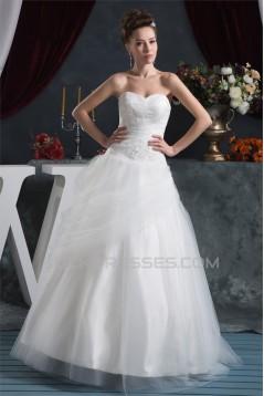 Beading Satin Fine Netting Sleeveless Ball Gown New Arrival Wedding Dresses 2030613
