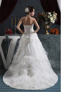 Elegant Sleeveless A-Line Sweetheart Wedding Dresses 2030671