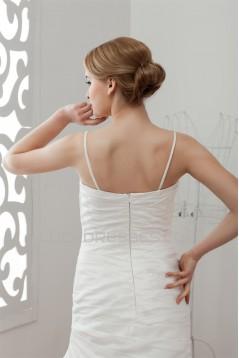 Elegant Sleeveless Sweetheart Taffeta Lace A-Line Wedding Dresses 2030674