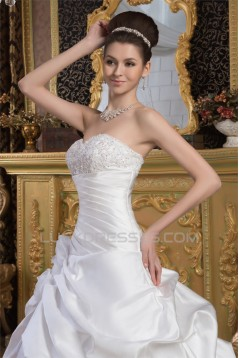 Latest Design Ball Gown Sweetheart Sleeveless Floor-Length Wedding Dresses 2030765