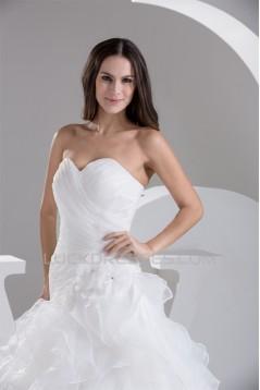 New design Sweetheart Satin Sleeveless Princess Sweet Wedding Dresses 2030799