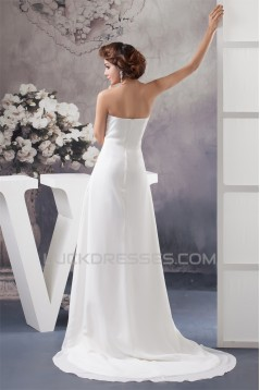 New Style A-Line Sweetheart Chiffon Lace Wedding Dresses Maternity Wedding Dresses 2030804
