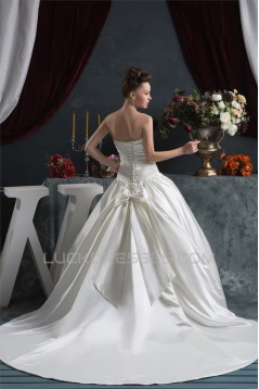 Ball Gown Sweetheart Chapel Train Wedding Dresses 2030916