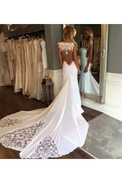 Mermaid Lace Wedding Dresses Bridal Gowns 3030023