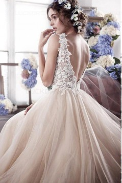 Lace Tulle Wedding Dresses Bridal Gowns 3030088