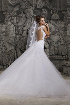 Mermaid Sleeveless Lace Wedding Dresses Bridal Gowns 3030089