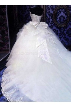 Ball Gown Sweetheart Lace Wedding Dresses Bridal Gowns 3030099