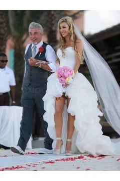 High Low Beach Summer Wedding Dresses Bridal Gowns 3030137