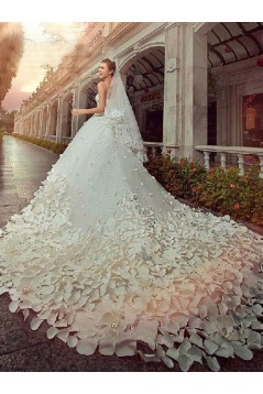 Ball Gown Sweetheart Crystal Wedding Dresses Bridal Gowns 3030141