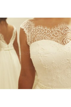 Lace and Chiffon Wedding Dresses Bridal Gowns 3030145