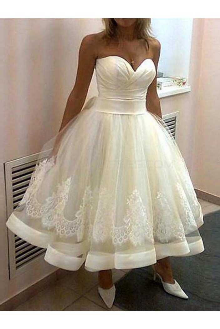 Ball Gown Sweetheart Lace Wedding Dresses Bridal Gowns 3030160