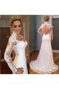 Mermaid Lace Wedding Dresses Bridal Gowns 3030161