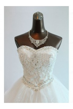 Ball Gown Sweetheart Lace Wedding Dresses Bridal Gowns 3030166
