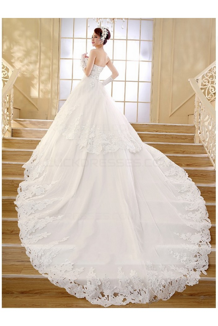 Ball Gown Sweetheart Lace Wedding Dresses Bridal Gowns 3030193