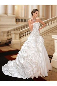 Ball Gown Sparkly Crystal Wedding Dresses Bridal Gowns 3030206