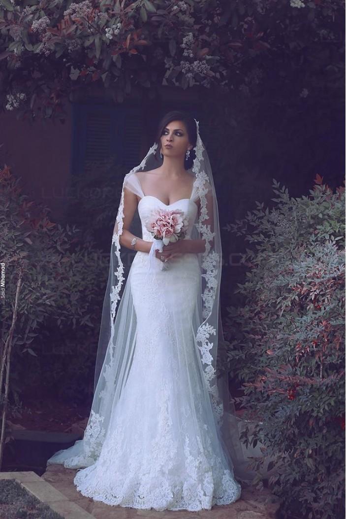 Mermaid Lace Wedding Dresses Bridal Gowns 3030239