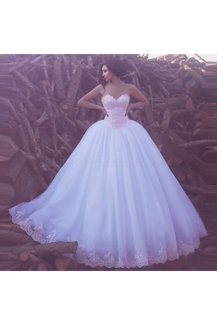 Ball Gown Sweetheart Lace Wedding Dresses Bridal Gowns 3030243