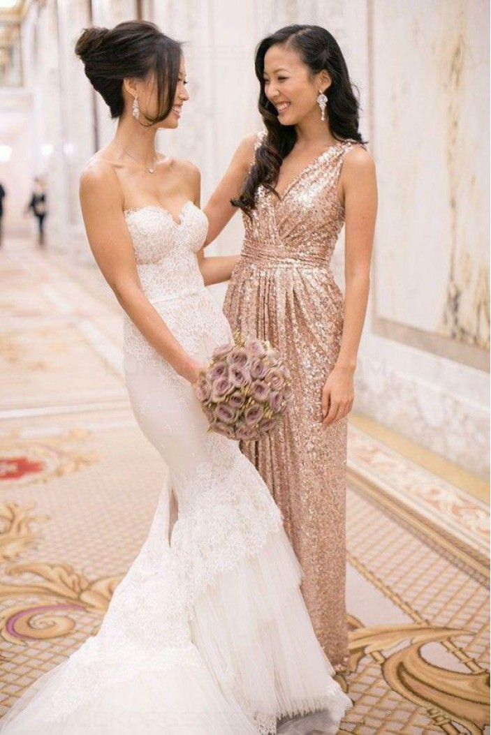 Mermaid Sweetheart Lace Wedding Dresses Bridal Gowns 3030253