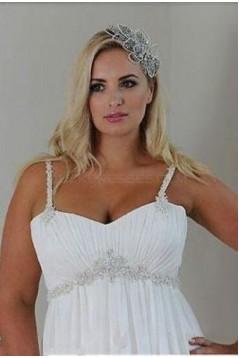 Empire Chiffon Plus Size Maternity Wedding Dresses Bridal Gowns 3030289