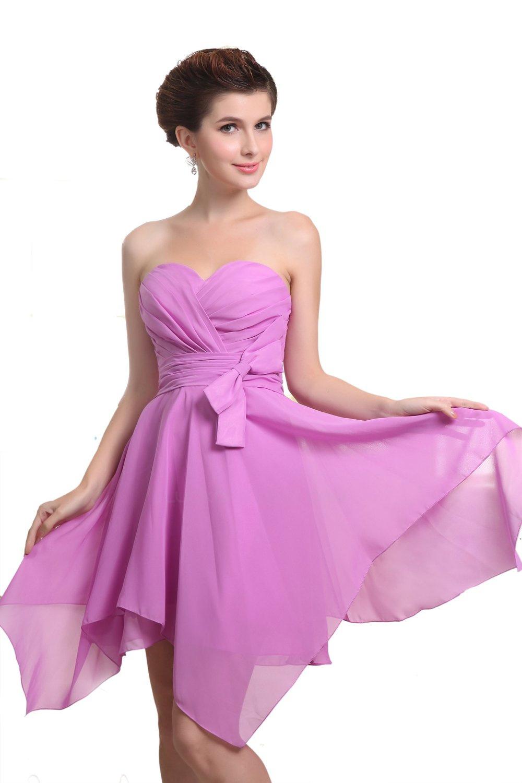 aline sweetheart short purple bridesmaid dresseswedding