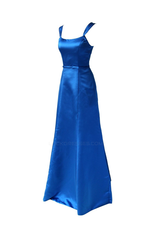 Line straps sleeveless royal blue long satin bridesmaid dresses a line straps sleeveless royal blue long satin bridesmaid dresseswedding party dresses bd010008 ombrellifo Images