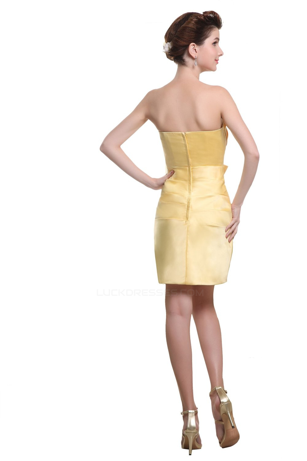 86951442b92 Short Yellow Dresses For Weddings - Gomes Weine AG