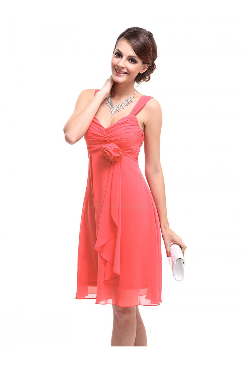 Short Chiffon Bridesmaid Dresses/Wedding Party Dresses/Maternity ...