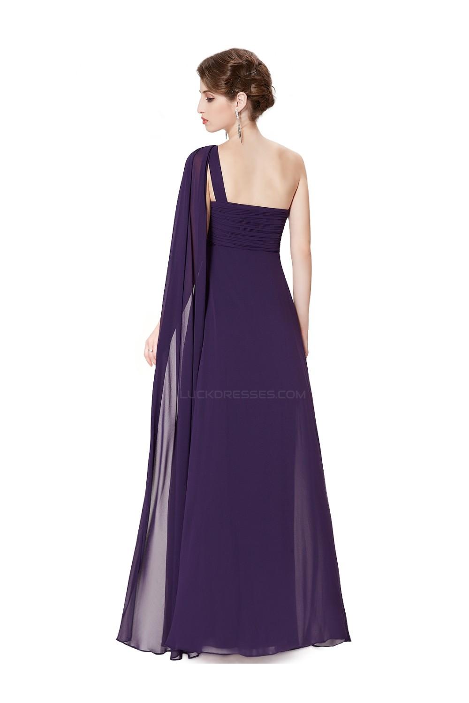 One shoulder long purple chiffon bridesmaid dressesevening dresses empire one shoulder long purple chiffon bridesmaid dressesevening dressesmaternity dresses bd010295 ombrellifo Choice Image