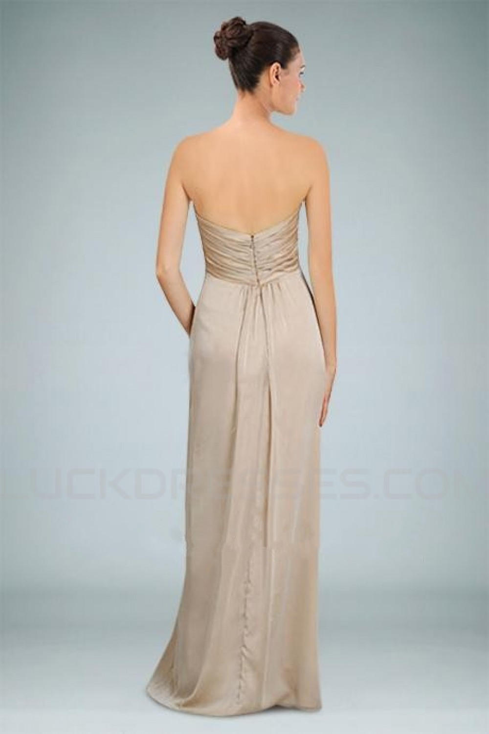 Empire Sweetheart Floor-Length Bridesmaid Dresses/Wedding Party ...