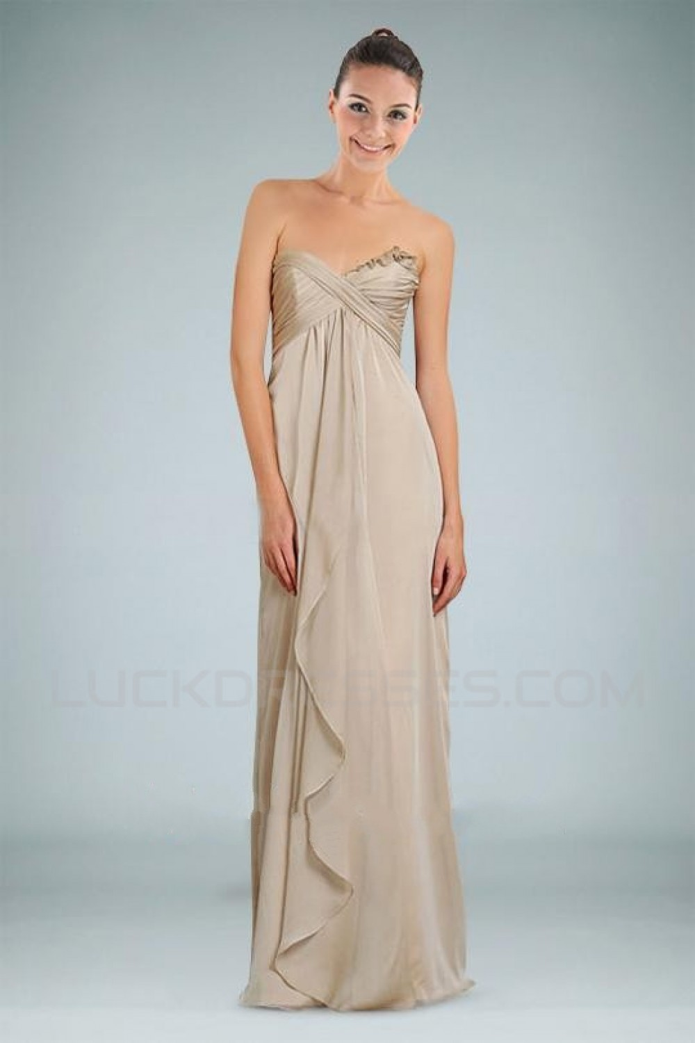 Sweetheart Floor-Length Bridesmaid Dresses/Wedding Party Dresses ...