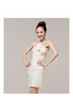 Short/Mini One-Shoulder Bridesmaid Dresses/Cocktail/Homecoming/Evening Dresses BD010600