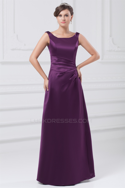 Line satin floor length pleats sleeveless long purple bridesmaid a line satin floor length pleats sleeveless long purple bridesmaid dresses 02010127 ombrellifo Choice Image
